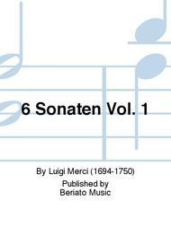 6 Sonaten Vol. 1