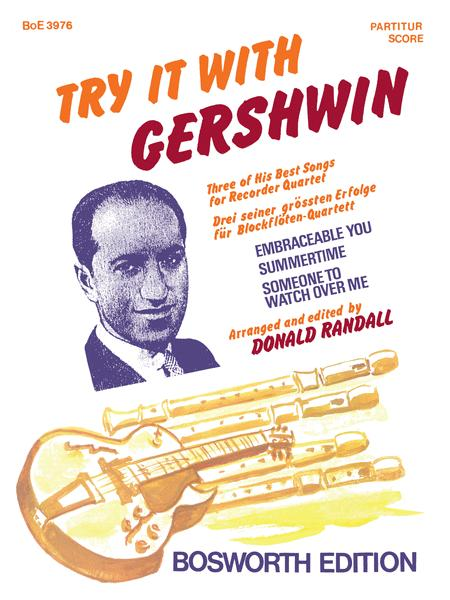 Try It With Gershwin (Recorder Ensemble)