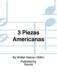 3 Piezas Americanas
