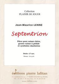 Septentrion (Caisse Cl, Gc et Cymb Charl)