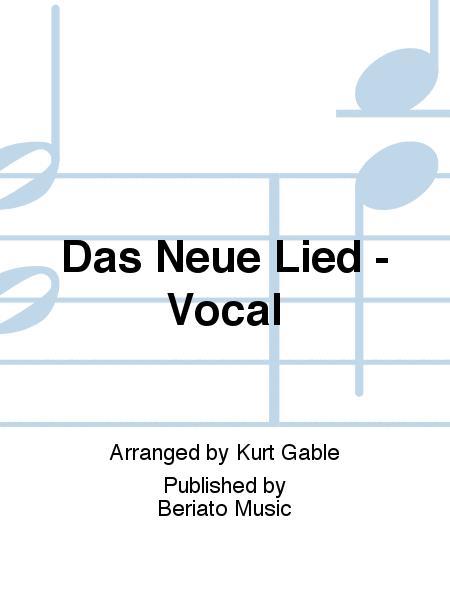 Das Neue Lied - Vocal