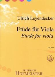 Etude fur Viola