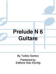 Prelude N 6 Guitare