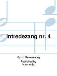 Intredezang nr. 4