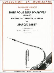 Suite pour trio d'anches Op 47