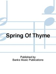 Spring Of Thyme