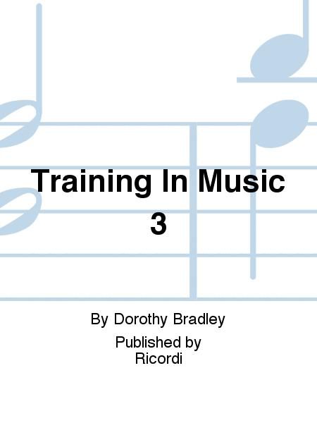 Training In Music 3