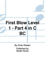 First Blow Level 1 - Part 4 in C BC