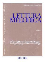 Lettura Melodica - Vol. 1