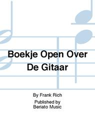 Boekje Open Over De Gitaar