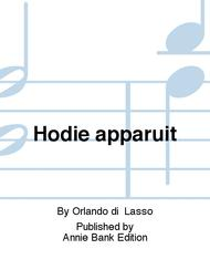 Hodie apparuit