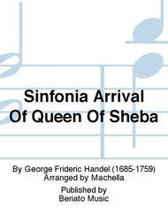Sinfonia Arrival Of Queen Of Sheba