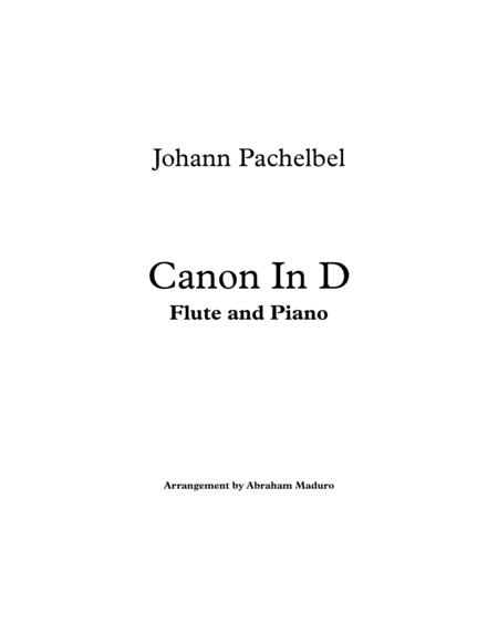 Pachelbel`s Canon In D Flute and Piano