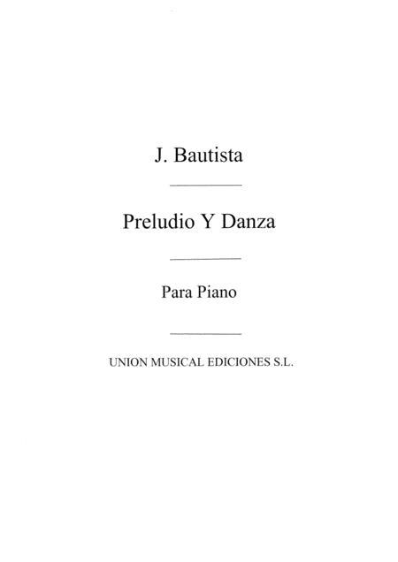 Preludio Y Danza For Piano