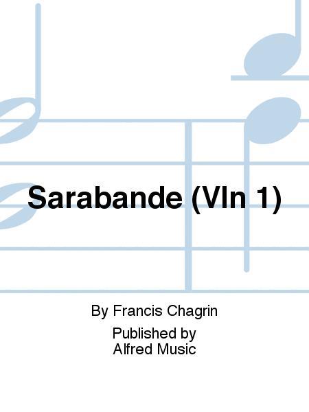 Sarabande (Vln 1)