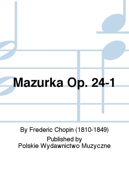 Mazurka Op. 24-1