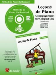 Lecons de Piano, volume 4 (CD)