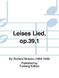 Leises Lied, op.39,1
