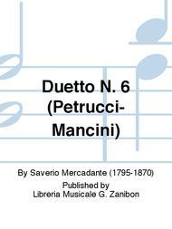 Duetto N. 6 (Petrucci-Mancini)