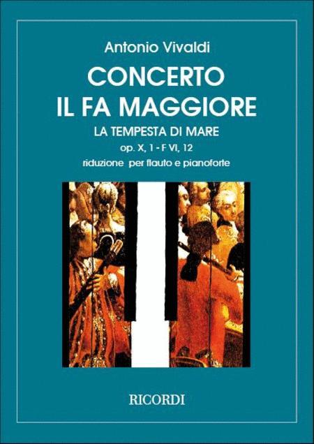 Concerto in Fa Mag 'La Tempesta di Mare' Rv 433