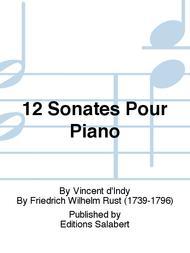 12 Sonates Pour Piano