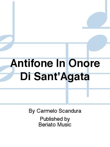 Antifone In Onore Di Sant'Agata