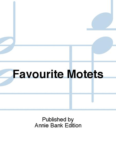 Favourite Motets