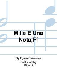 Mille E Una Nota,Ff