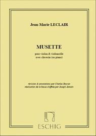 Musette Violon-Vlc-Piano Ou Clavecin (Bouvet