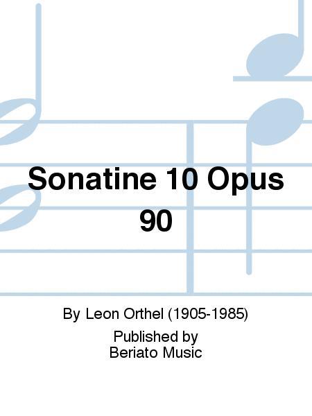 Sonatine 10 Opus 90