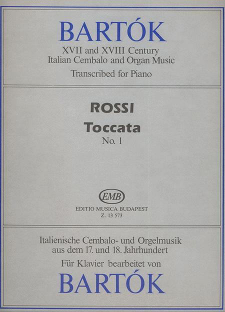 Toccata Nr. 1 in do maggiore