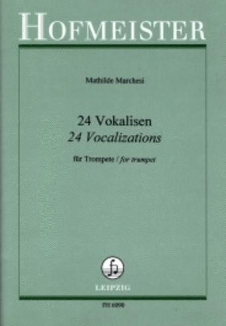 24 Vokalisen, op. 3