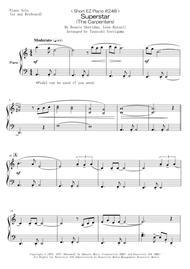 < Short EZ Piano #248 > Superstar (The Carpenters)