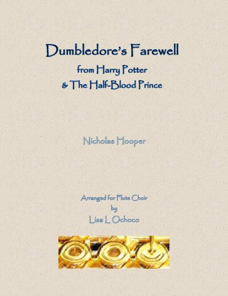 Dumbledore's Farewell from Harry Potter & The Half-Blood Prince for Flute Choir