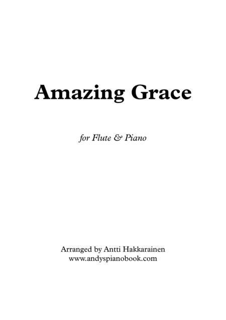 Amazing Grace - Flute & Piano