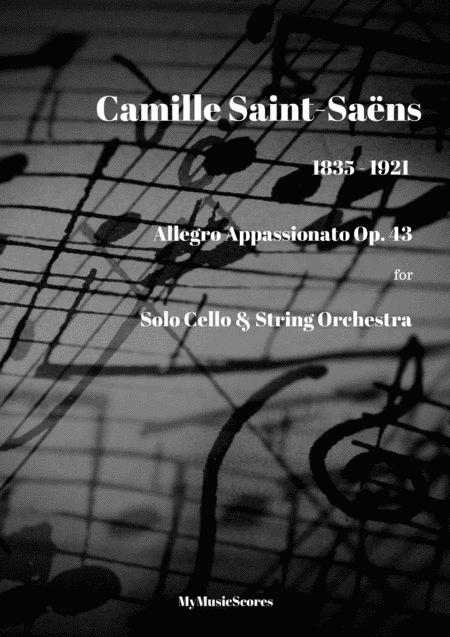 Saint-Saëns Allegro appassionato Op. 43 for Cello and String Orchestra
