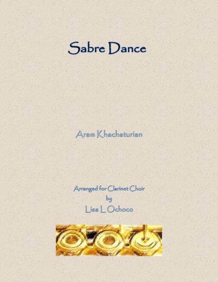 Sabre Dance for Clarinet Choir