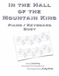 In the Hall of the Mountain King - Piano/Keyboard Duet