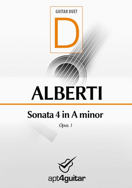 Sonata 4 in A minor