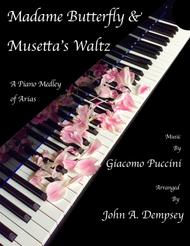 Puccini Medley: Madame Butterfly / Musetta's Waltz (Piano Solo)
