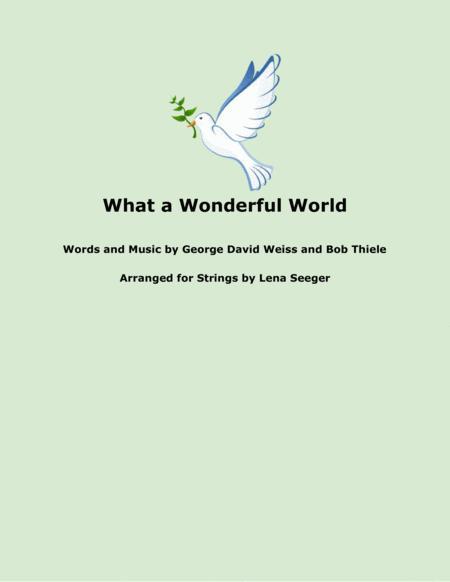What A Wonderful World (violin duet)