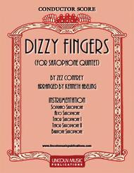 Dizzy Fingers (for Saxophone Quintet SATTB)