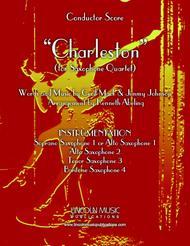 Charleston (for Saxophone Quartet SATB or AATB)