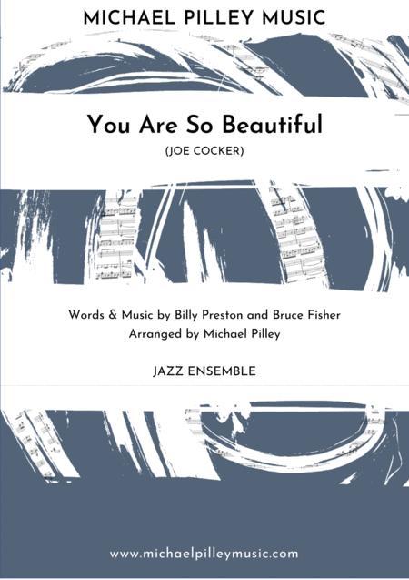 You Are So Beautiful (Joe Cocker) Big Band