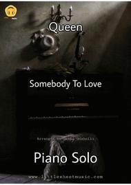 Somebody To Love (Piano Solo)