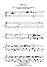Delicate Piano