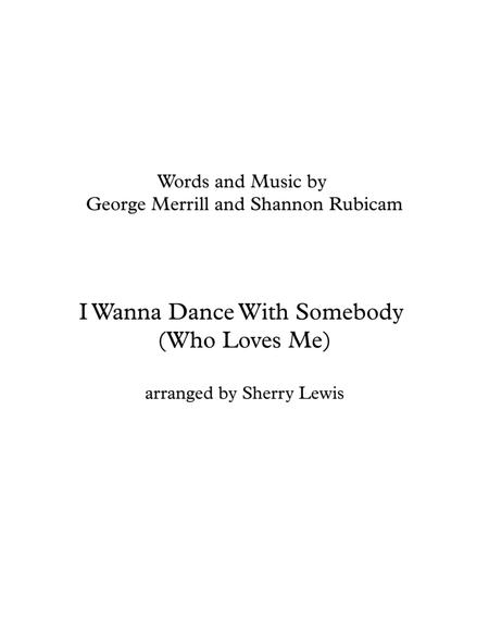 I Wanna Dance With Somebody SOLO VIOLIN (for violin solo)