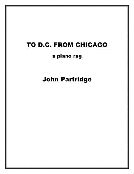 To D.C. from Chicago - a piano rag