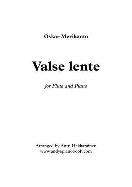Valse Lente - Flute & Piano