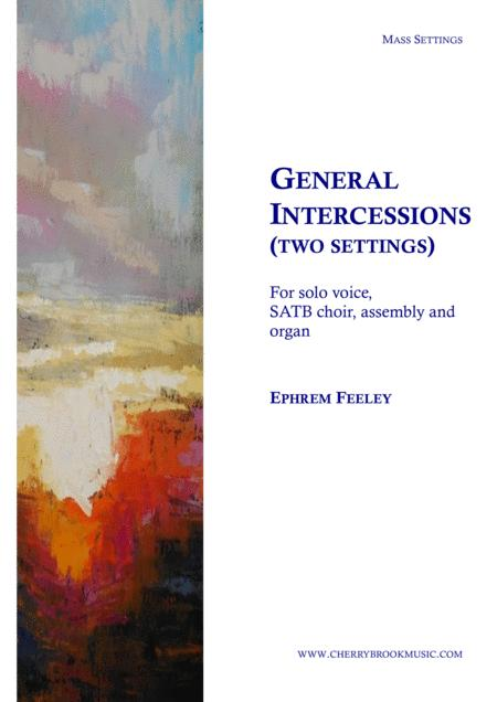 General Intercessions (Two settings)